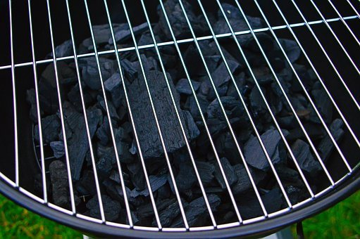 Charcoal, Garden Party, Baking, Barbecue, Grill, Grate