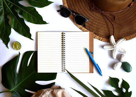 Summer, Leaves, Tropical, Plants, Green, Design