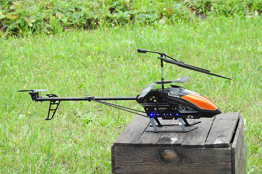 Helicopter, Toy, Hobby, Remote, Controlled, Control