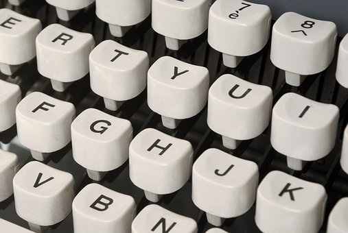 Typewriter, Machine, Mechanics, Letters, Keys, Retro