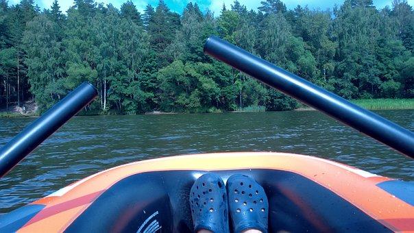Lake, Camp, Nature, Landscape, Summer, Camping, Water