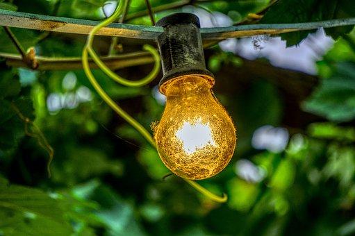 Lamp, Light Bulb, Shining, Lichterkette, Decoration