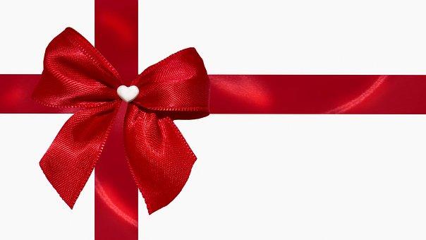 Envelope, Gift, Loop, Heart, Post, Christmas