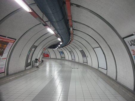 Metro, Rome, Italy, Loneliness, Stadium, Tram