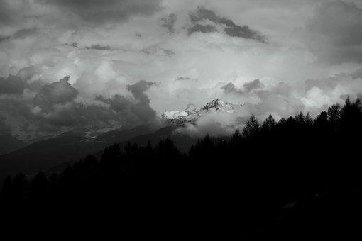 Mountain, Alps, Mountains, Nature, Landscape, Winter