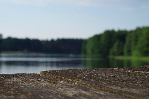 Water, Lake, Holidays, Rest, Summer, Nature, Landscape