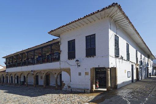 Colombia, Villa De Leyva, Old Town, Colonial Style
