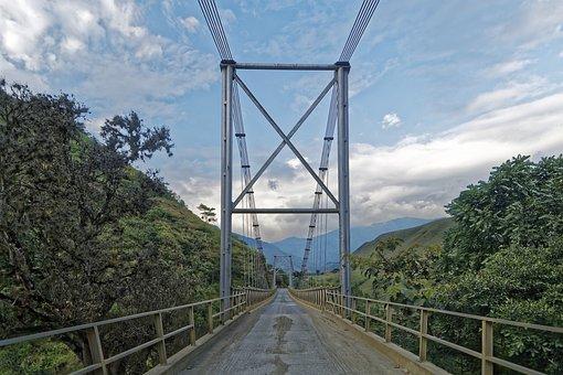 Colombia, Pedregal In Inzá, Departamento Cauca, Travel