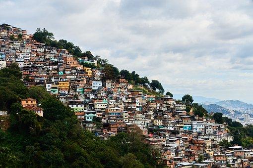 Rio De Janeiro, Brazil, Favela, Poverty