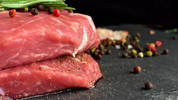 Beef, Meat, Bbq, Steak, Lunch, Dinner, Spices, Salt