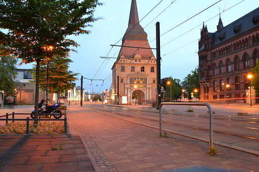 Rostock, Hanseatic City, Architecture, Stone Gate, City
