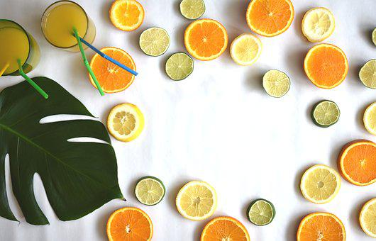 Fruits, Citrus, Summer, Party, Juicy, Vitamins, Food