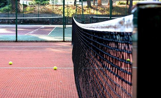 Tennis, Tennis Court, Tennis Ball, Tennis Net, Sports