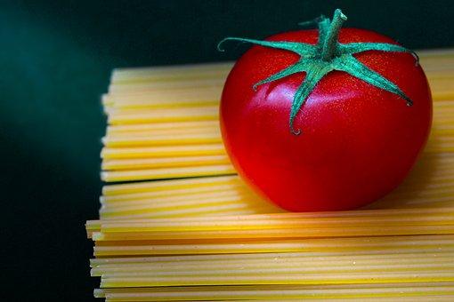 Tomato, Red, Spaghetti, Ray Of Light, Fresh, Healthy