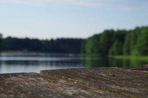 Water, Lake, Holidays, Rest, Summer