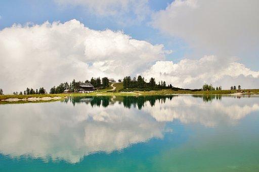 Alps, Austria, Hinterstoder, Landscape, Alpine, Lake
