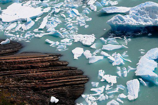 Glacier, Argentina, Patagonia, Landscapes