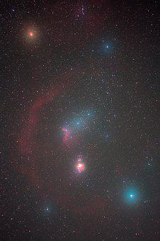 Orion, Astronomy, Space, Sky, Universe, Science