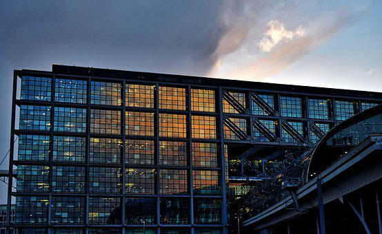 Berlin, Train Station, Hauptbahnhof, Urban, Germany