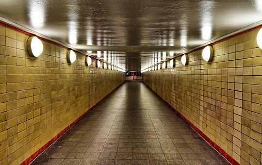 Berlin, Subway, Bernauer Strasse, Metro, Underground