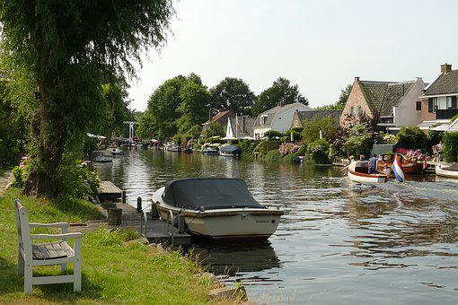 River, Water, Fight, Netherlands, Boat, Boating