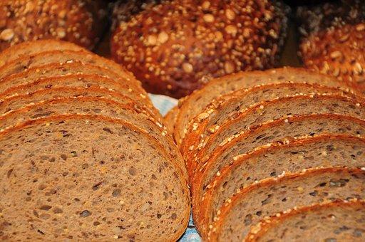 Bread, Food, Delicious, Breakfast, Fresh, Baked