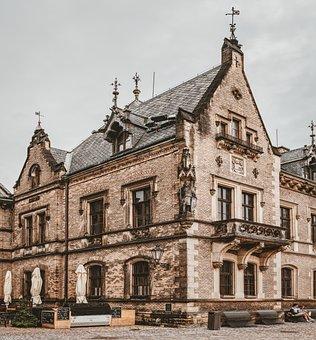 Castle, Burghof, House, Masonry, Historically