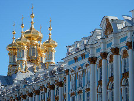 Catherine's Palace, St Petersburg, Pushkin, Russia