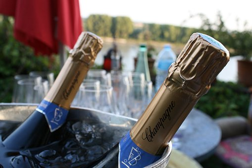 Champagne, Bottle, Bottleneck, Luxury, Drink, Alcohol