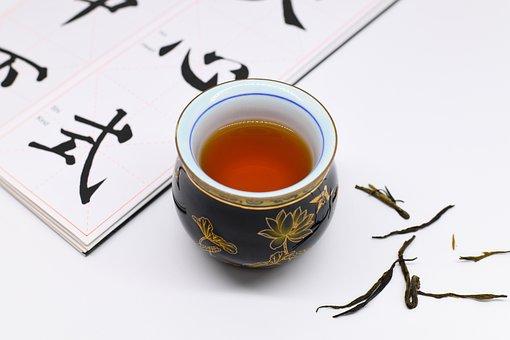 Tea Cup, Copybook, Pu-erh Tea
