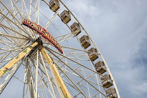 Ferris Wheel, Folk Festival, Ulmer Volksfest, Ride