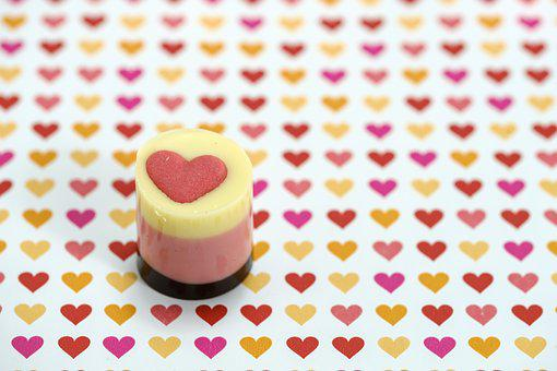 Praline, Chocolate, Confectionery, Heart, Love, Gift