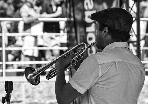 Music, Trumpet, Brass, Musician, Sound, Concert, Horn