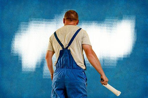 Painter, House Painter, Wall, Craftsmen, Upholsterers