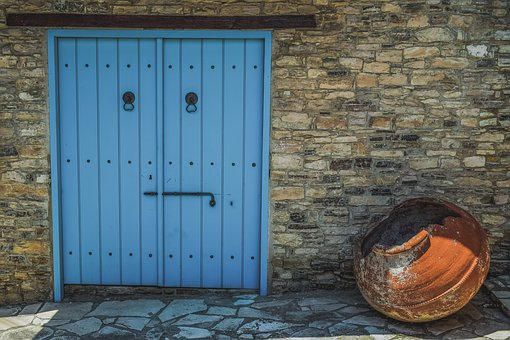 Door, Wall, Architecture, Stone, House, Entrance