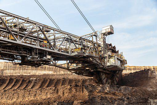 Open Pit Mining, Carbon, Industry, Brown Coal, Mining