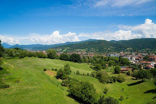 Travel, Landscape, Nature, Hill, Tree, Mountain, Sky