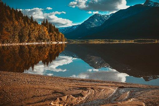 Lake, Norway, Landscape, Water, Nature, Mountains