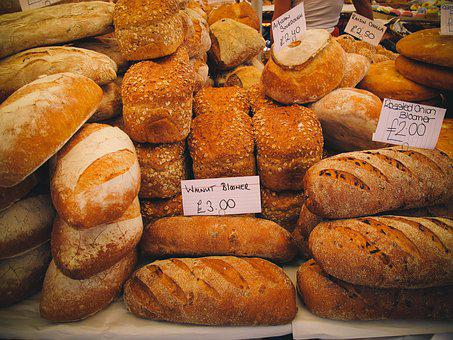 United Kingdom, London, Bread, Market