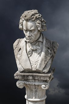 Beethoven, Art, Figure, Artwork, Antiquity, Monument