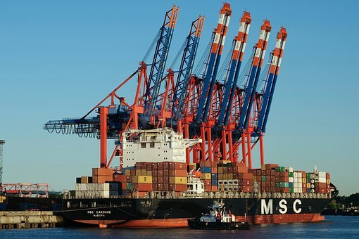 Container, Shipping, Container Ship, Msc Carouge
