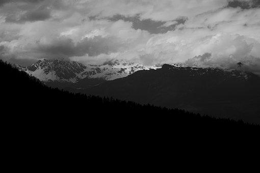 Mountains, Italy, Valledaosta, Nature, Alpine