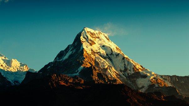 Annapurna, Mountain, Himalaya, Nepal, Trekking
