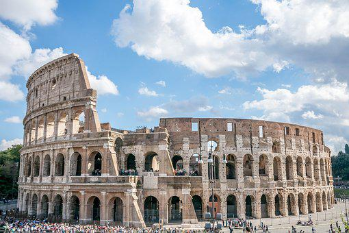 Rome, Italy Colosseum, Antiquity, Metropolis, Old