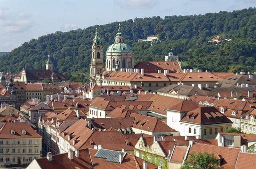 Czech Republic, Prague, St, Nicholas Church