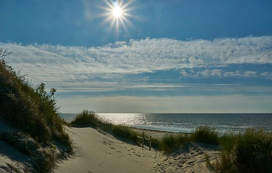 Beach, Sea, Sun, Rügen, Baltic Sea, Water, Sand, Summer