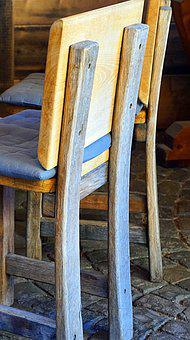 Chair, Old, Wood, Furniture, Rustic