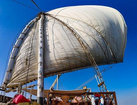 Sail, Sailing Vessel, Traditionally, Ship, Sailing Boat