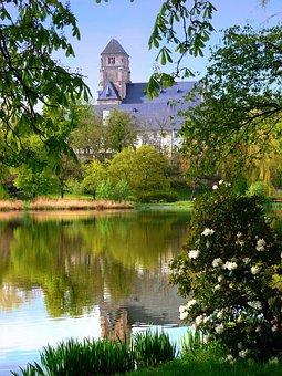 Chemnitz, Castle Pond, Pond, Lake, Schlossberg, Museum