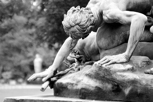Paris, Statue, France, Sculpture, Artwork, Historical